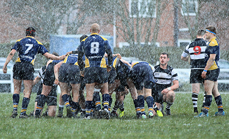 Scrum Down in the Hailstorm